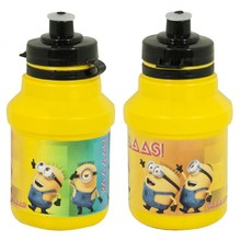 Cycling Bottle Minions Bidon 350ml Yellow with Holder