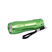 Aluminium Flashlight BC BCS 193 - Green