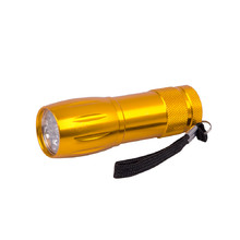 Aluminium Flashlight BC BCS 193 - Yellow