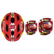Disney Cars Set Helmet + Children's Protectors