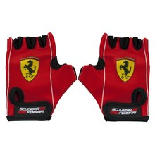 Children's Cycling Gloves Ferrari