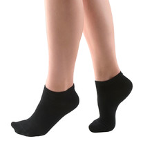 Low Ankle Socks Bamboo - Black