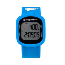 Digital Pedometer inSPORTline Strippy - Blue