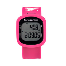 Digital Pedometer inSPORTline Strippy - Pink