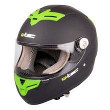 Motorcycle Helmet W-TEC V105 - Black-Green