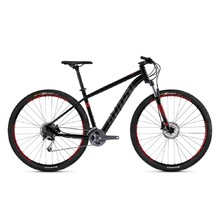 "Mountain Bike Ghost Kato 5.9 AL U 29"" – 2019 - Night Black / Titanium Grey / Riot Red"