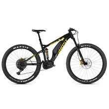 "Full-Suspension E-Bike Ghost Hybride SL AMR S3.7+ AL 29"" – 2019 - Night Black / Spectra Yellow / Iridium Silver"