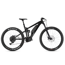 "Full-Suspension E-Bike Ghost Hybride SL AMR X S4.7+ AL 29"" – 2019 - Night Black / Jet Black / Iridium Silver"