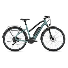 "Women's Trekking E-Bike Ghost Square Trekking B1.8 Ladies 28"" – 2019 - River Blue / Jet Black"
