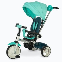 Three-Wheel Stroller/Tricycle with Tow Bar Coccolle Urbio - Turquiose