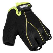 Men cycling gloves W-TEC Humyr - Black-Green