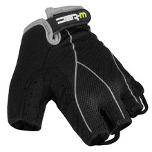 Men cycling gloves W-TEC Humyr - Black-Grey