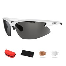 Sports Sunglasses Bliz Motion+ - White