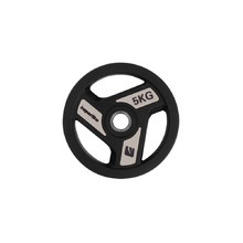 Rubber-Coated Weight Plate inSPORTline Herk 5 kg
