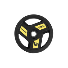Rubber-Coated Weight Plate inSPORTline Herk 10 kg