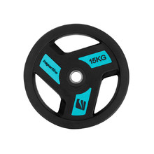 Rubber-Coated Weight Plate inSPORTline Herk 15 kg