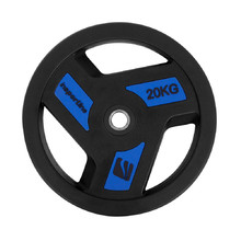 Rubber-Coated Weight Plate inSPORTline Herk 20 kg
