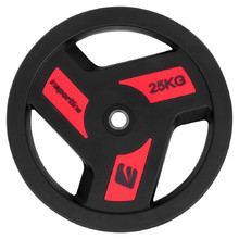 Rubber-Coated Weight Plate inSPORTline Herk 25 kg