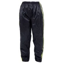 Moto Trousers W-TEC Rainy - Black-Yellow