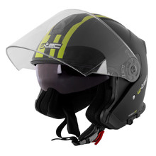 Motorcycle Helmet W-TEC V586 - Black-Green
