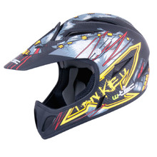 Freeride Helmet W-TEC 3ride - Black Fanky