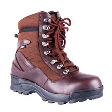 Outdoor and Moto Boots W-TEC Viper WP - Dark Brown