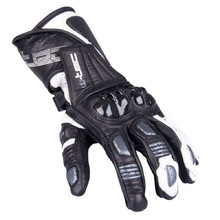 Men's Moto Gloves W-TEC Decane - Silver