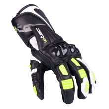 Men's Moto Gloves W-TEC Decane - Green