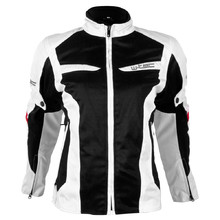 Women's Moto Jacket W-TEC Ventex Lady - White-Black