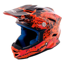 Children's Downhill Helmet W-TEC AP-42 - Orange/Red