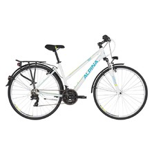 "Women's Trekking Bike ALPINA ECO LT10 28"" – 2020 - White"
