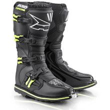 Motocross Boots AXO Drone Limited Edition - Black-Fluorescent Yellow