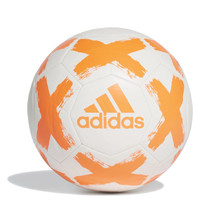 Soccer Ball Adidas Starlancer FL7036 White, Orange Logo