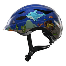 Children's Cycling Helmet Abus Anuky - Blue