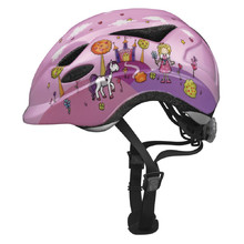 Children's Cycling Helmet Abus Anuky - Pink