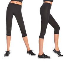 Women's Capri Sports Pants BAS BLACK Forcefit 70