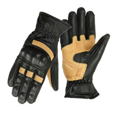 Motorcycle Gloves B-STAR Sonhel - Black-Beige