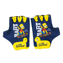 Children's Cycling Gloves Bart Simpson