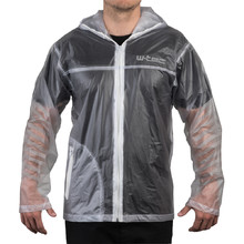 Motorcycle Raincoat W-TEC Lighty - Transparent