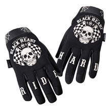 Motorcycle Gloves W-TEC Black Heart Restarter - Black
