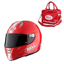 Motorcycle Helmet BELL M5X Daytona Red White