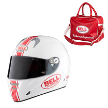 Motorcycle Helmet BELL M5X Daytona White Red