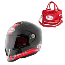 Motorcycle Helmet BELL M6 Carbon Race Red