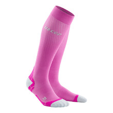 Women's Compression Running Socks CEP Ultralight - Pink