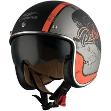 Motorcycle Helmet Vemar Chopper Rebel