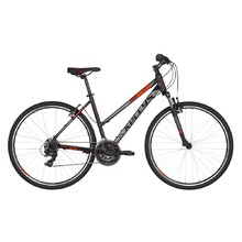 "Women's Cross Bike KELLYS CLEA 10 28"" – 2019 - Black Red"