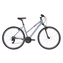 "Women's Cross Bike KELLYS CLEA 10 28"" – 2019 - Grey Pink"