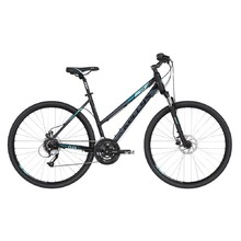 "Women's Cross Bike KELLYS CLEA 90 28"" – 2019 - Black Aqua"