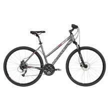 "Women's Cross Bike KELLYS CLEA 90 28"" – 2019 - Dark Coral"