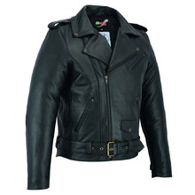 Leather Motorcycle Jacket BSTARD BSM 7830